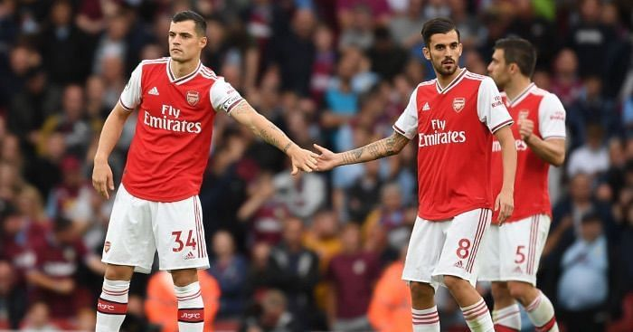 Granit Xhaka and Dani Ceballos have turned their Arsenal careers around.