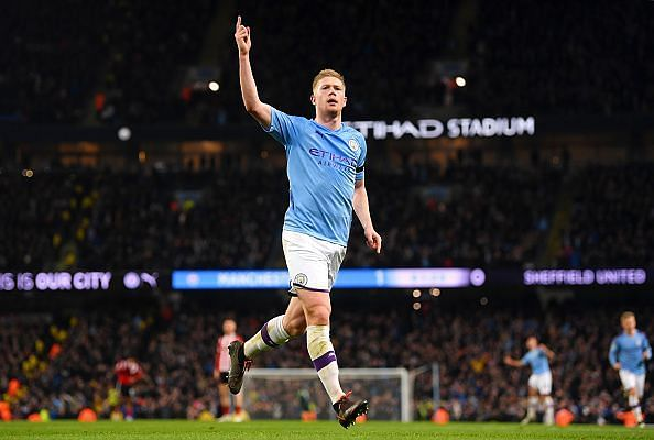 Kevin De Bruyne looks set to win the PFA Player of the Year award
