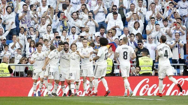 Real Madrid won their 34th top-flight title this season.