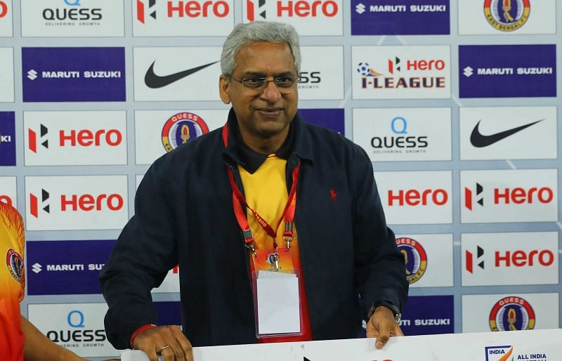 Ajit Isaac, Chairman and Managing Director, Quess Corporation (Image : I-League)