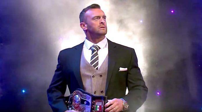 The NWA Champion — Nick Aldis