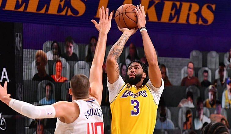 Anthony Davis led LA Lakers