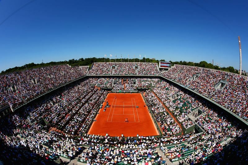 Phillipe Chatrier Arena - the primary court at Roland Garros