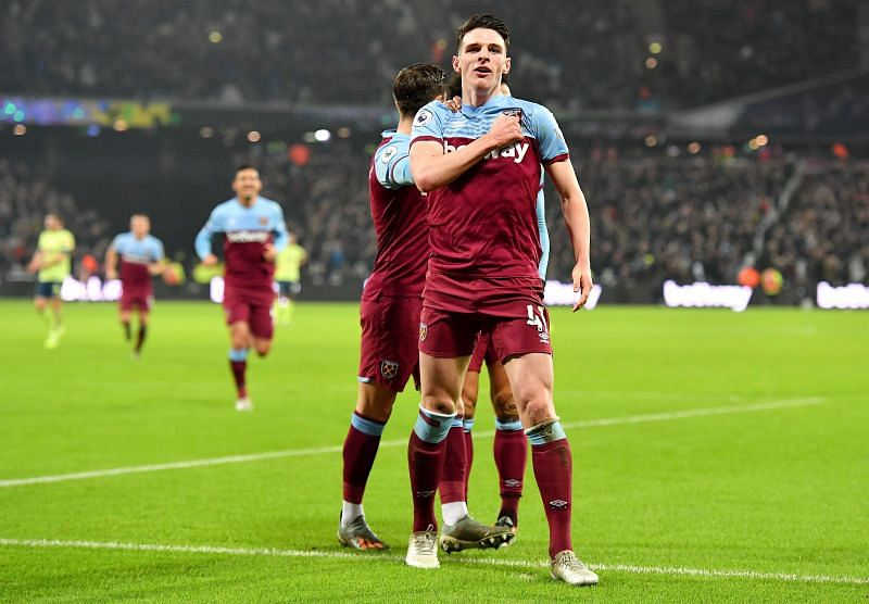 Declan Rice has proved himself as one of the best defensive-minded midfielders in the Premier League.