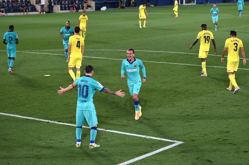 Griezmann scored an excellent goal for Barcelona