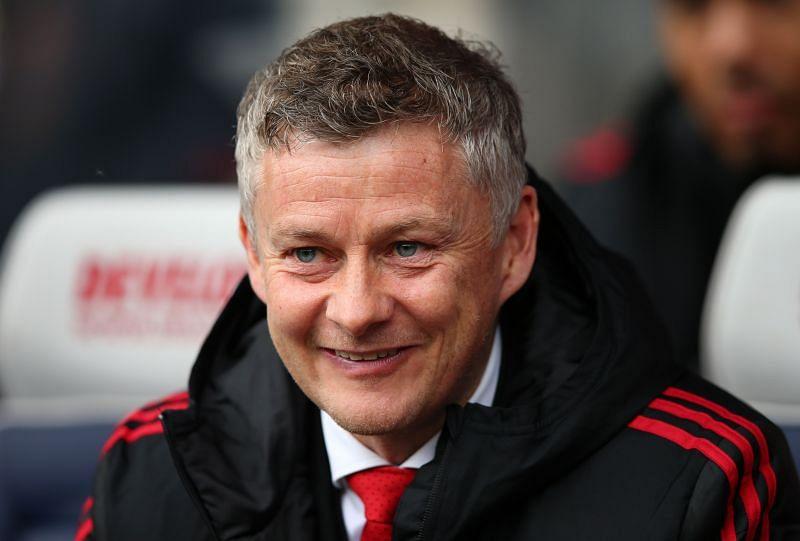 Manchester United manager Ole Gunnar Solskjær