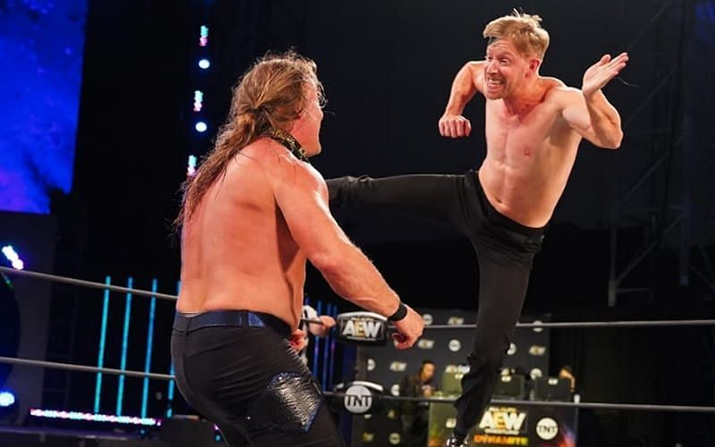 It was the last moment before Chris Jericho ends Orange Cassidy