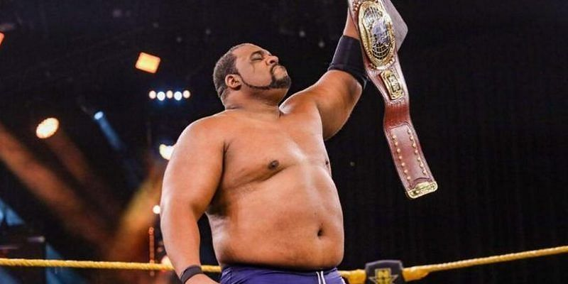Keith Lee responds after relinquishing the NXT North American Championship