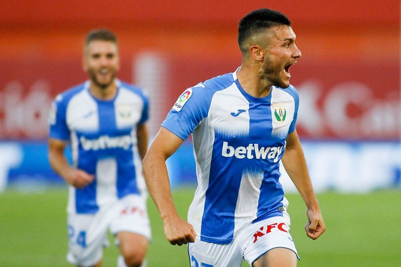 Oscar Rodriguez scores for Leganes against Mallorca