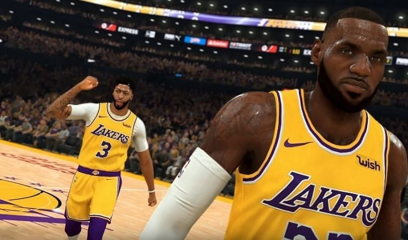 La Lakers Superstar Duo Lebron James Anthony Davis Bring Down The Nba 2k Server