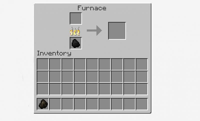 Moving Charcoal to inventory
