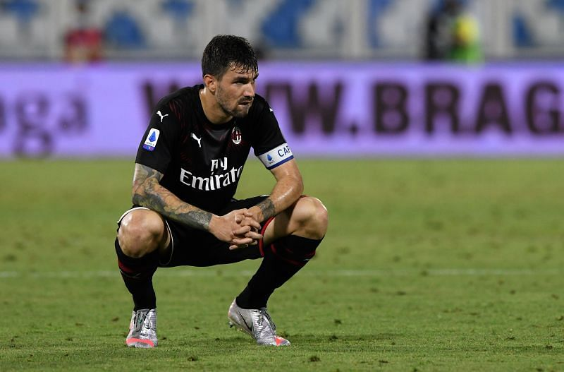 Alessio Romagnoli will be unavailable against Cagliari