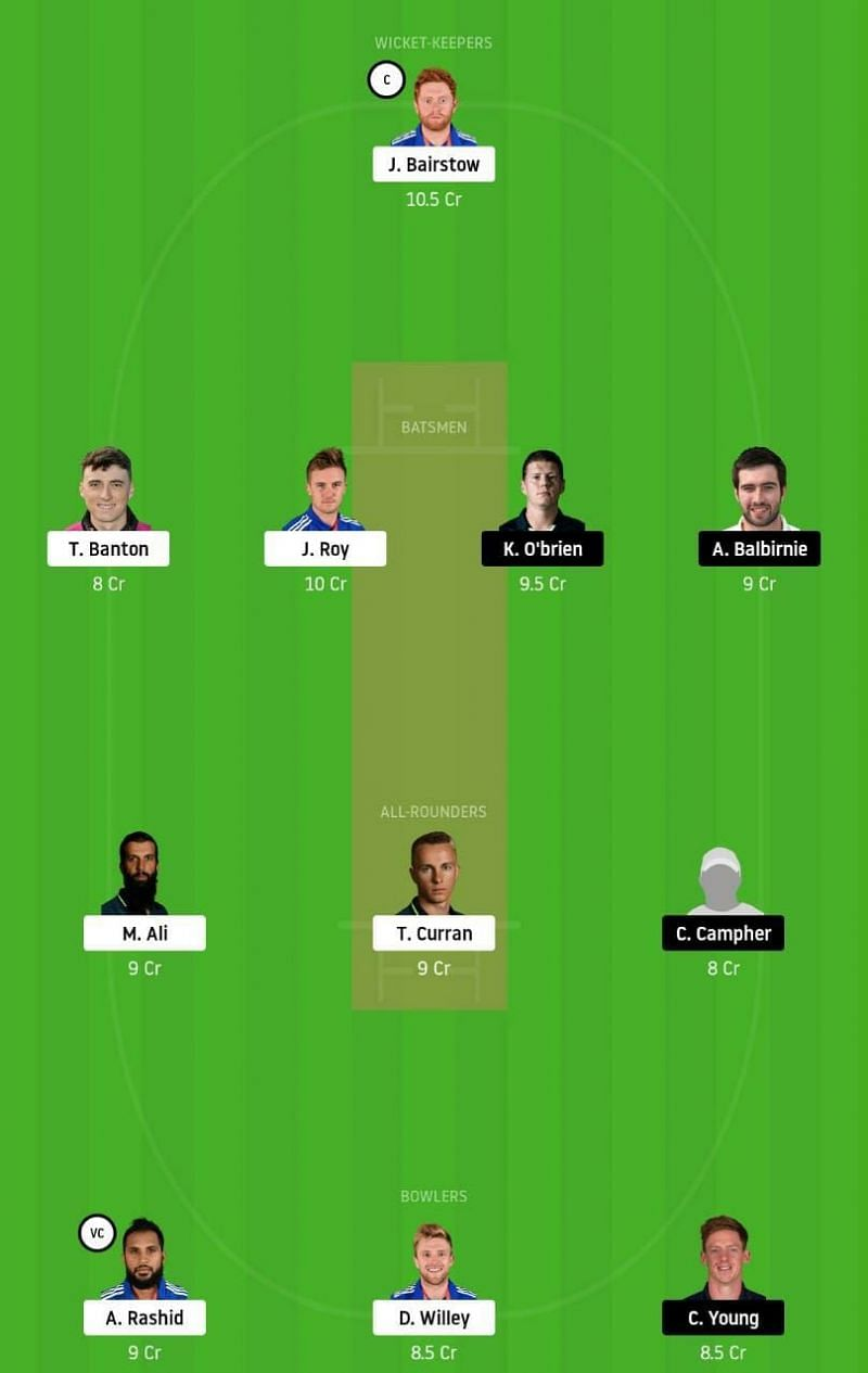 ENG vs IRE 2nd ODI Tips