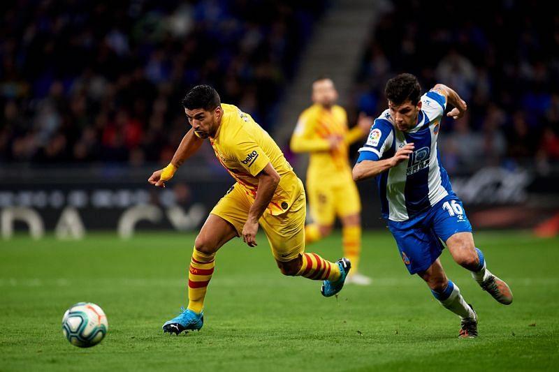 Luis Suarez has already scored against Espanyol this year