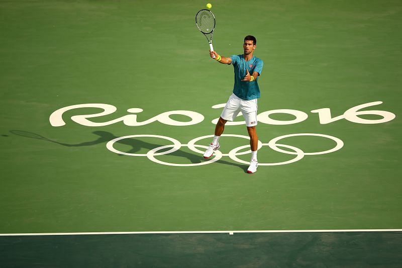 Novak Djokovic at the Rio 2016 Olympics