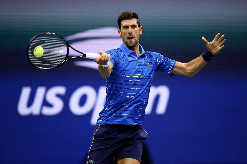 Novak Djokovic at 2019 US Open