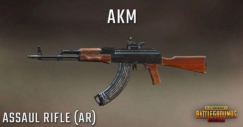 AKM (picture credit: PUBG Mobile.)