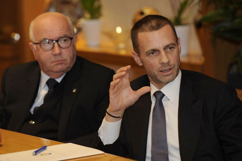 UEFA president Aleksander Ceferin has not made it clear yet whether there will be fans in the stadium.