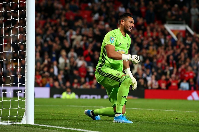 Sergio Romero has impressed when called upon for Manchester United.
