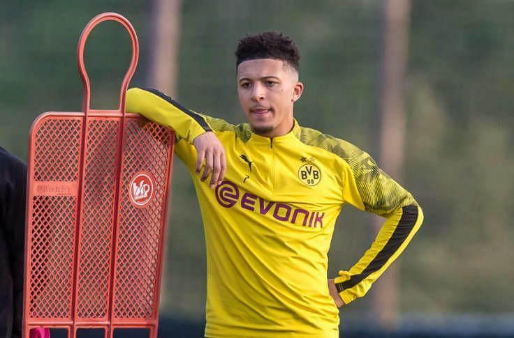Jadon Sancho has recently been linked with a switch to Liverpool