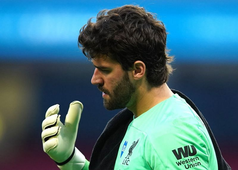 Defending Golden Glove winner Alisson is in contention to retain the award