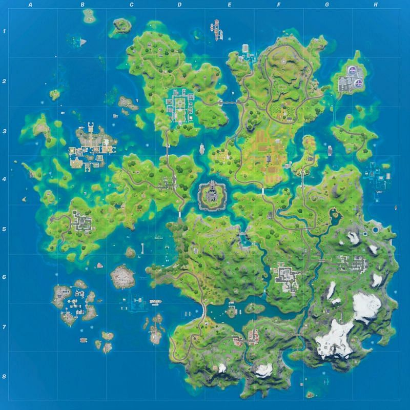 Fortnite V13 30 Early Patch Notes Updated Map Golden Cars