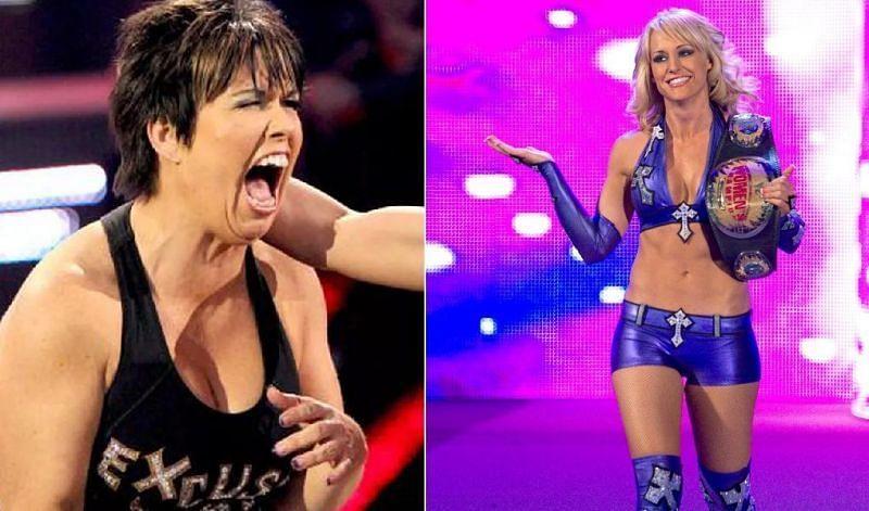 WWE पूर्व विमेंस रेसलर्स