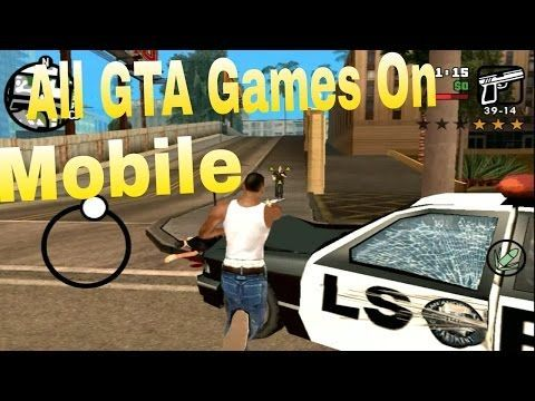 GTA games on smartphones. Image: YouTube.
