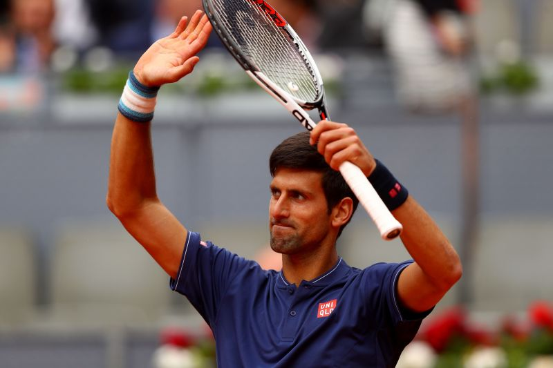 Novak Djokovic has done a lot of charitable work this year