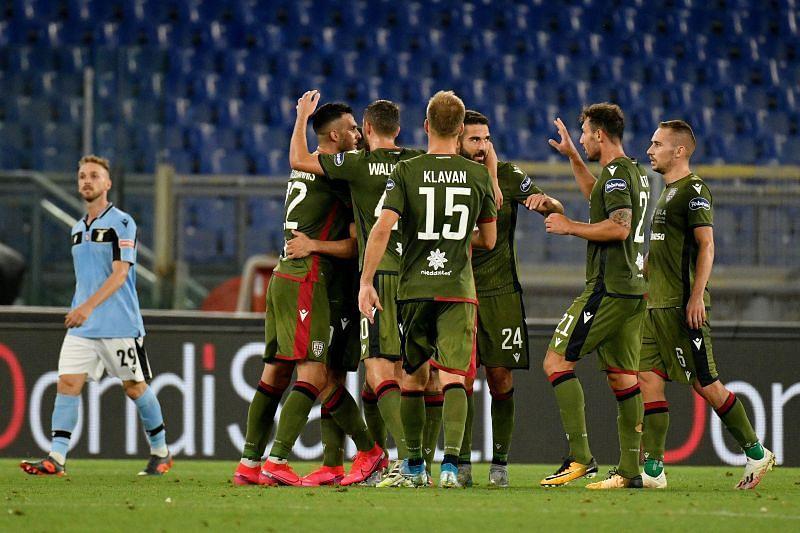 Cagliari Calcio ended their nine-game winless run