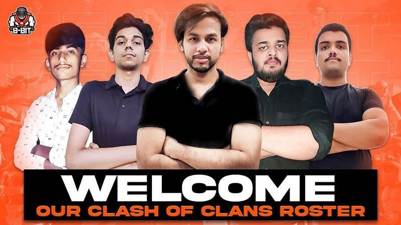 8bit's Clash of Clans roster