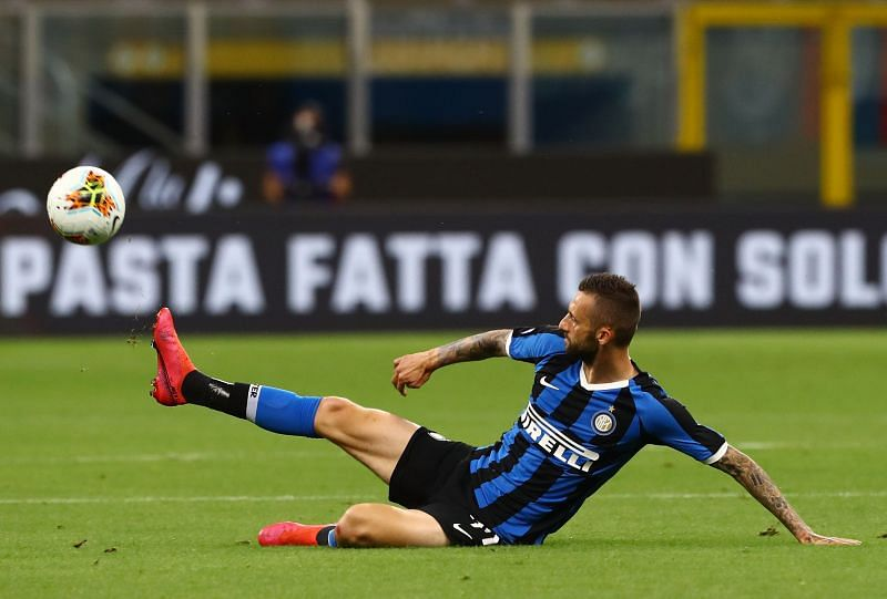 Marcelo Brozovic was at the heart of an Inter Milan midfield that tended to get outrun.