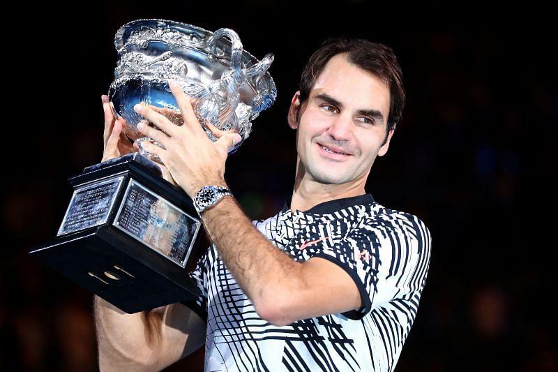 Roger Federer after winning Australian Open 2017