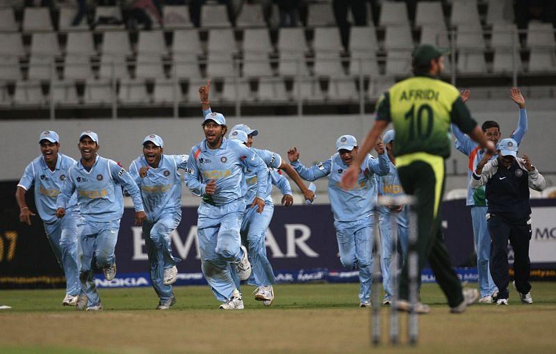 भारतीय टीम जीत के बाद
