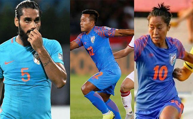 Sandesh Jhingan, Jeje Lalpekhlua and Bala Devi around 150 appearances for the National Team among them.