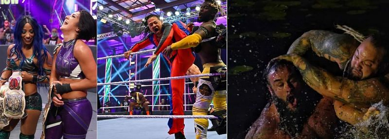 There were some interesting botches this year at Extreme Rules