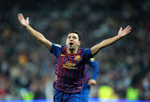 Xavi is the first player to reach a century of assists in La Liga.