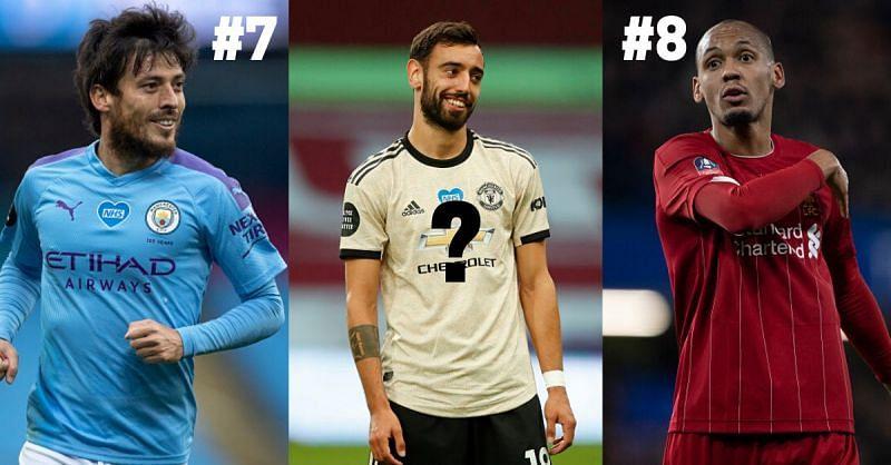 The Premier League has had some brilliant midfielders this season