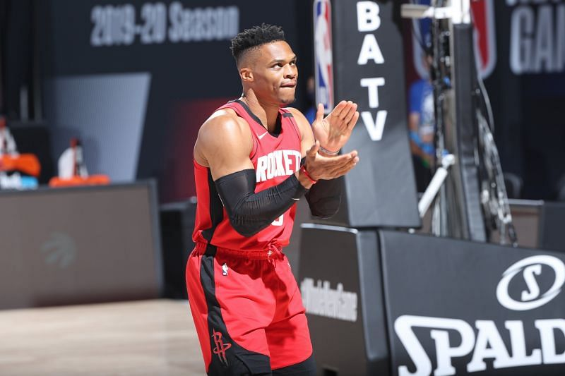 Russell Westbrook played in Houston