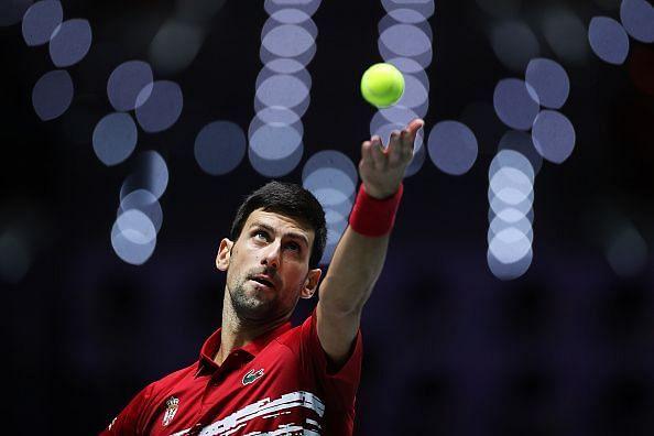 Novak Djokovic has begun preparing for the US Open