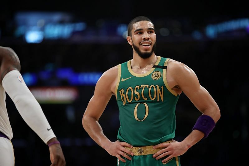 Boston Celtics will hope that Jayson Tatum finds his form again
