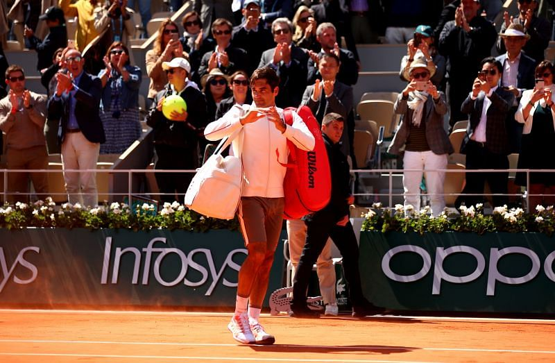 Roger Federer is happy about the French Open