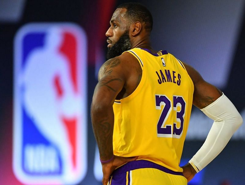 LeBron James will be leading the line for the LA Lakers once again
