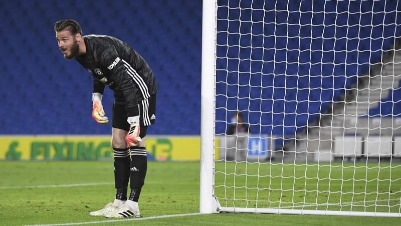 De Ge made a couple of great saves against Brighton.