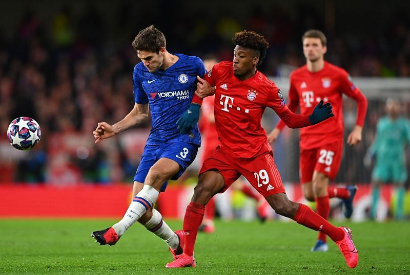 Bayern Munich have a commanding three-goal lead against Chelsea.