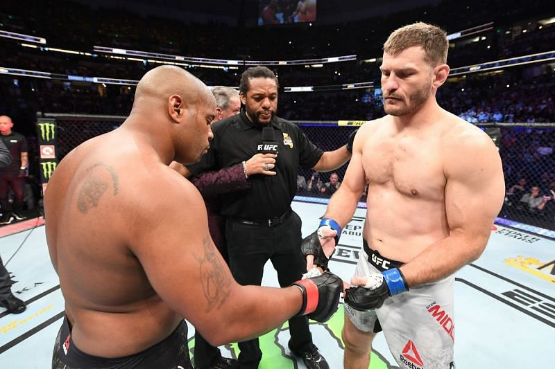 Daniel Cormier and Stipe Miocic had a few words with each other leading up to UFC 260.