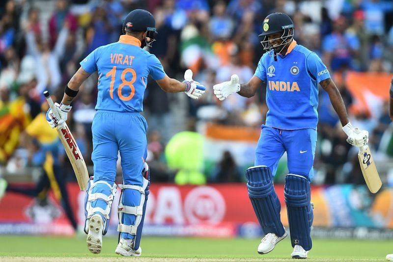 वर्ल्ड कप 2019 में भारत ने श्रीलंका को हराया था