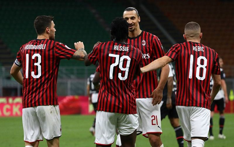 AC Milan came back from two goals down to defeat Juventus 4-2