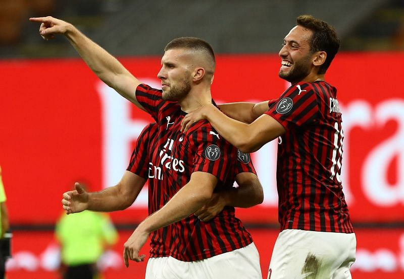 Ante Rebic has been in phenomenal form for AC Milan