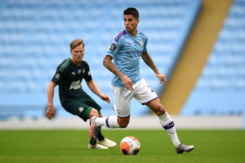 Joao Cancelo has struggled to dislodge Kyle Walker from his position in the Manchester City first team